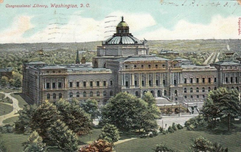 WASHINGTON D.C., 1907 ; Congressional Library