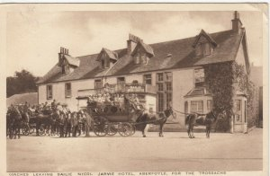 ABERFOYLE , Scotland , 1935 ; Coahes , Bailie Nicol Jarvie Hotel