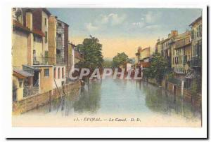 Epinal CARTE Postale Old Channel