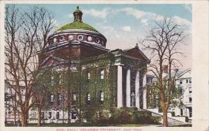 Earl Hall Columbia University New York