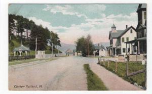 Center Rutland, Vermont, An Early Street View