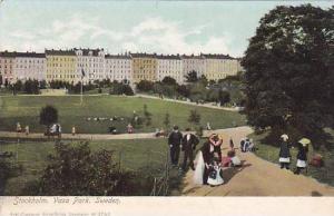 Vasa Park, Stockholm, Sweden, 1900-1910s