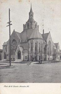 STREATOR, Illinois, PU-1909; First M.E. Church