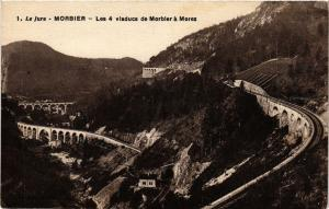 CPA MORBIER les 4 Viaducs de MORBIER a MOREZ. (247555)