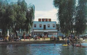 Exterior,  Sam's Woods Lake Lodge,  Winfield, B.C.,  Canada, 40-60s