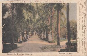 B80814 paseo del parque lezama buenos aires i argentina  front/back image