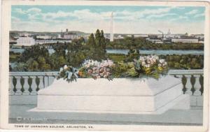 Virginia Arlington Tomb Of Unknown Soldier 1923