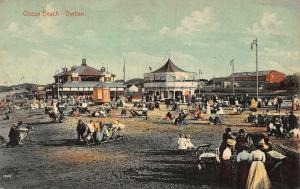 South Africa Ocean Beach Durban Esplanade Plage Postcard