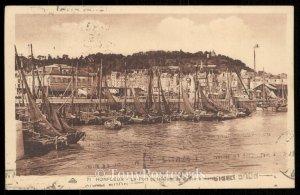 Honfleur - Le Port et la Cote de Grace a maree haute