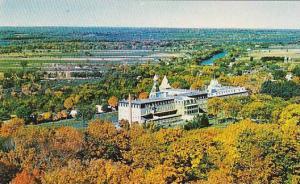 Autumn Trees, Vue Panoramique et le College, Riguad, Quebec, Canada, 40-60´s