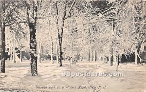 Steuben Park Utica NY 1911
