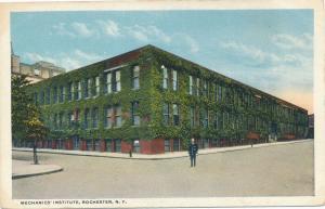Mechanics Institute, Rochester, New York - WB