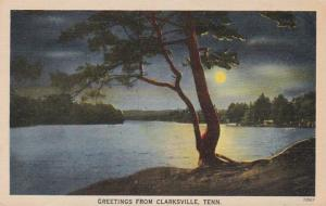 Tennessee Greetings From Clarksville 1944