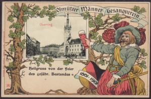 40th Anniversary Singing Club,Austria Postcard