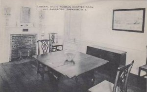 New Jersey Trenton General David Forman Chapter Room Old Barracks Artvue