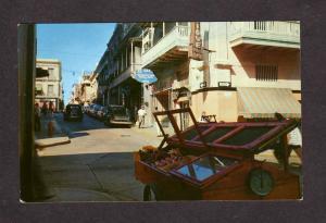 PR Street Scene San Juan PUERTO RICO Postcard PC El Siglo Store