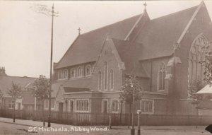 RP: St Michaels , ABBETWOOD , SE London , England , 1915