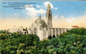 CA - San Diego. 1915 Panama-California Expo. Fine Arts Bldg