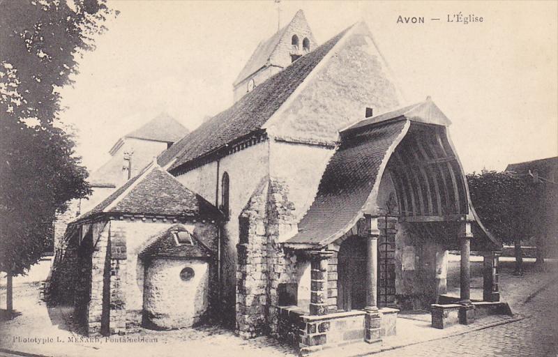 L'Eglise, AVON (Seine Et Marne), France, 1900-1910s