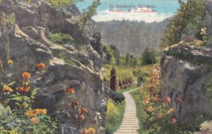 VICTORIA, British Columbia, Canada, 1930-1940's; In Butchart's Gardens