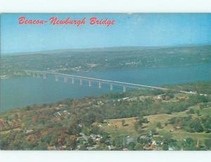 Pre-1980 NEWBURGH BRIDGE Beacon New York NY W6619