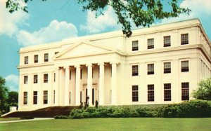 Montgomery, AL, State Dept. of Archives & History, 1955 Chrome Postcard g9320