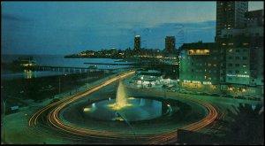 Argentina Post card - Mar del Plata, 1972 used