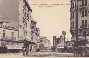Casablanca , Morocco, 00-10s ; Brasserie du Theatre, Boulevard de la Liberie
