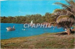 Postcard Modern Managua Nicaragua A rincon bello the Laguna de Jilda