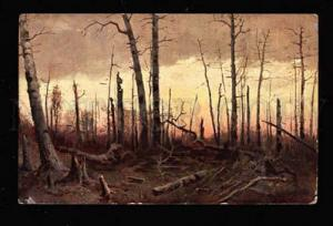 020183 Burnt Forest by SHISHKIN vintage Russian PC