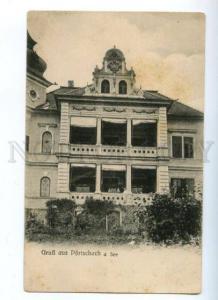 172358 AUSTRIA GRUSS aus Portschach a See Vintage postcard