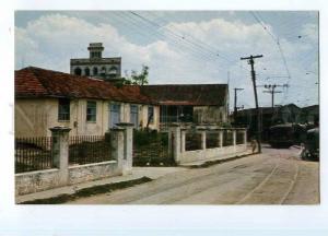 247307 CUBA HAVANA Casa Blanca TRAM Old photo postcard