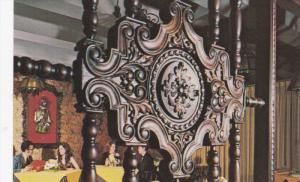 GUATEMALA CITY, Guatemala, 1940-1960's; Hotel Conquistador, View Of Dining Room