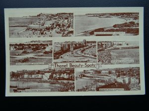 Kent THANET BEAUTY SPOTS 7 Image Multiview - Old Postcard by A.H.& S.