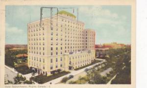 Hotel Saskatchewan, Regina, Saskatchewan, Canada, PU-1949