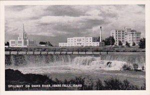 Spillway On Snake River Idaho Falls Idaho