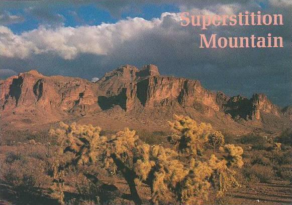 Arizona Superstition Mountain