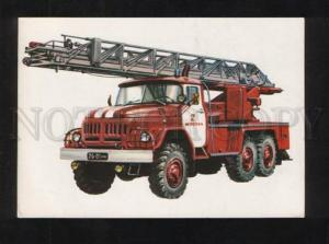 072741 Fireman engineering Autoladder fire car AL-30 Old PC