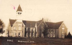 Monmouth Oregon Normal School Real Photo Antique Postcard K32866