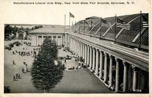 NY - Syracuse. NY State Fairgrounds, Manufacturing Liberal Arts Building