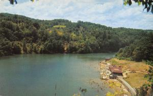 Olive Hill Kentucky~Carter Caves State Park~Bath House~Bathing Beach~1960s PC