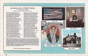 Barbara Fritchie By John Greenleaf Whittier Frederick Maryland