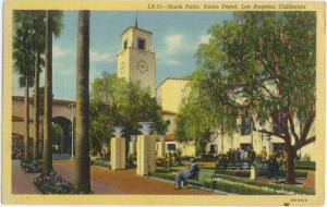 Linen of South Patio Union Depot Los Angeles California CA