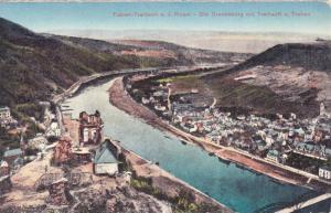 Traben-Trarbach a.d. Moselle - Die Grevenburg Mit Trarbach V. Traben, Rhinela...