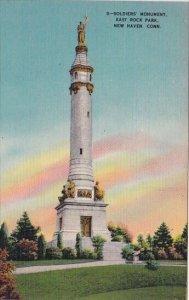 Soldiers Monument East Rock Park New Haven Connecticut