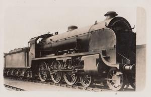 LSW S15 Class 4-6-0 No 828 RW Urie Train Antique Real Photo Postcard