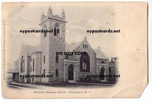 Methodist Church, Canandaigua NY