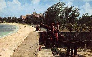 Nassau in the Bahamas Post card Old Vintage Antique Postcard Fort Montagu Bea...
