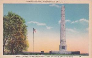 New York Utica Oriskany Memorial Monment