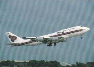 Thai Wap 40 Hs TGE Boeing B747 3D7 Thai Airways Interational C N 23722